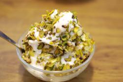 Ice cream at Bakdash