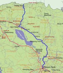 Cambodia Route 1