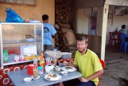 Andrew's breakfast in Chulong