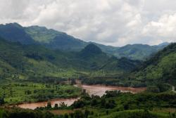 Nam Ou river, outside of Luang Prabang