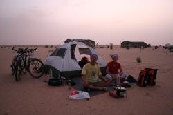 Camping in Mauritania