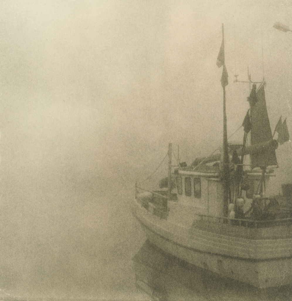 """""""Boat"""" © Sarah Lycksten. Approx. 7x9"""" handcrafted alternative process photograph (silver emulsion Lith print). Signed original print offered by GALLERY5X7 at $250."""