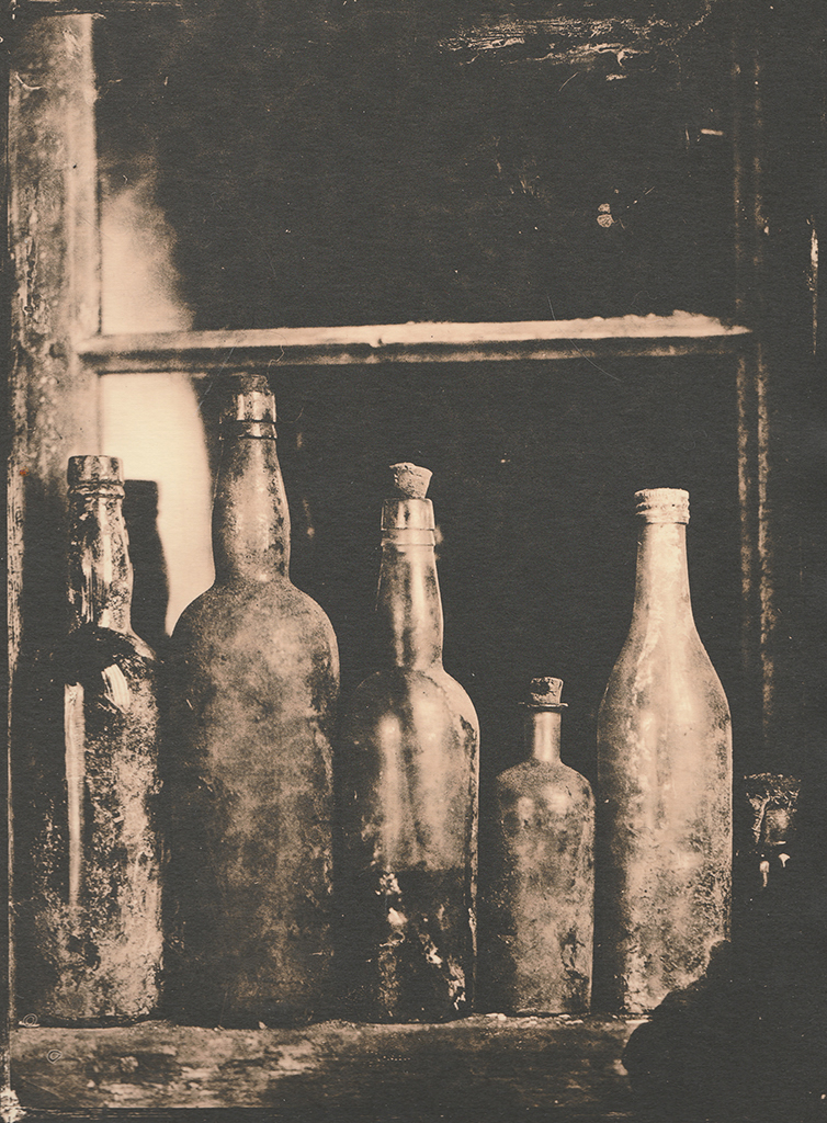 """""""Window"""" © Sarah Lycksten. Approx. 7x9"""" handcrafted alternative process photograph (silver emulsion lith print). Signed original print offered by GALLERY5X7 at $250."""