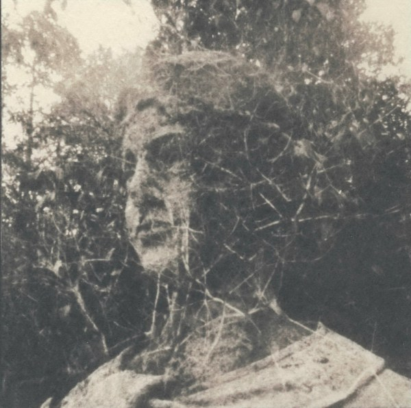 """""""Amalgamation 2, Toned"""" © Victor Senkov. Print from handmade pinhole plate from vintage Soviet Svema B/W film. Approx. 5.1x5.1"""" (13x13cm) handcrafted alternative process photograph (cyanotype, toned). GALLERY5X7 offers this signed, numbered and stamped original artist print at $250."""