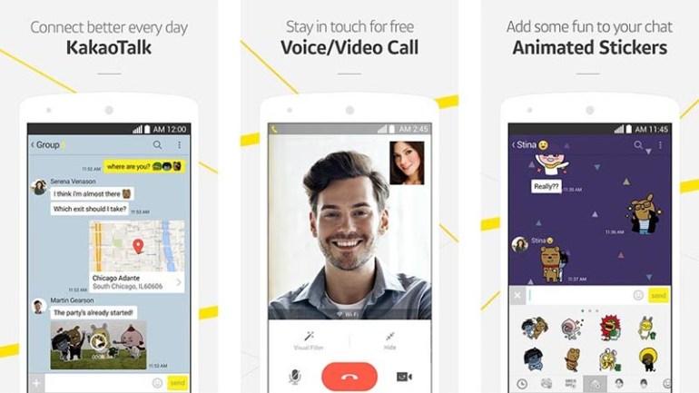 KakaoTalk aplikasi video call