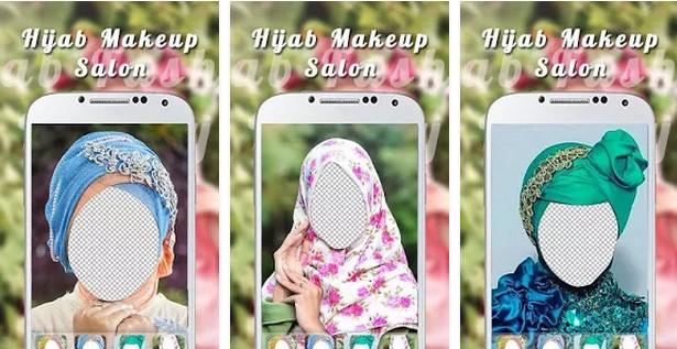 Aplikasi Camera MakeUp Plus hijab makeup salon
