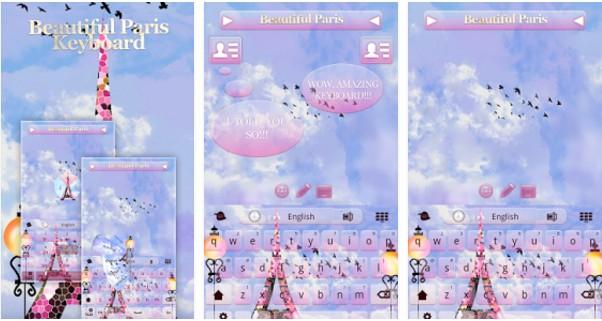 tema-keyboard-android-lucu-keyboard-paris-yang-indah