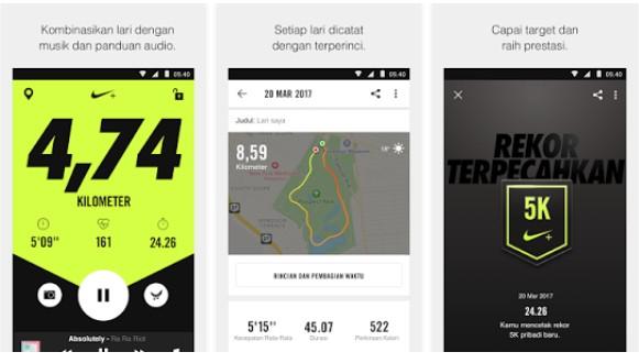 Aplikasi Lari