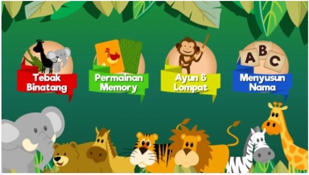 Game Belajar Mengenal Hewan