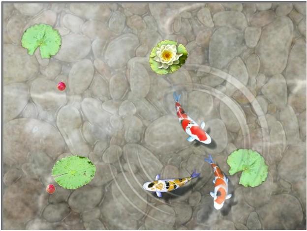 Permainan Anak Feed Koi Fish