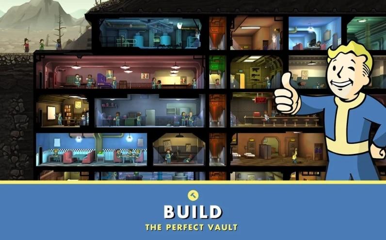 Fallout Shelter Game Membangun