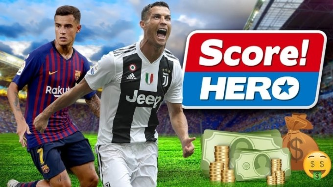Score Hero Game Sepak Bola HP Android