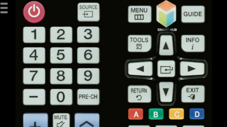 TV Remote Control Infra Red