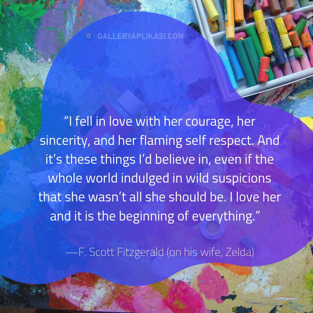 I fell in love with her courage