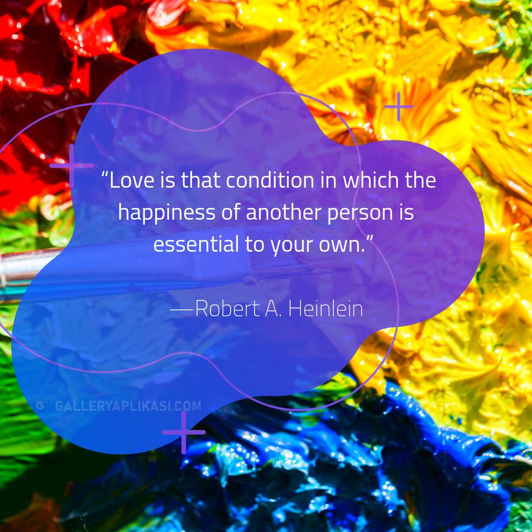 Love is that condition