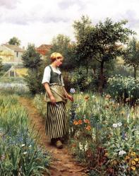 Knight_Daniel_Ridgway_In_the_Garden