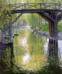 The Old Bridge, France, 1910