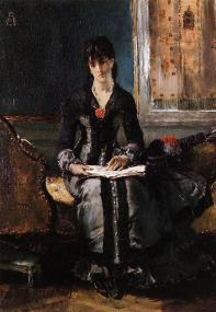 Stevens_Alfred_Portrait_of_a_Young_Woman