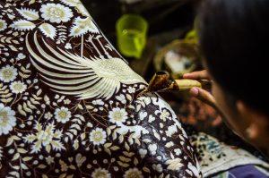 Batik Tulis Premium Jakarta in the making