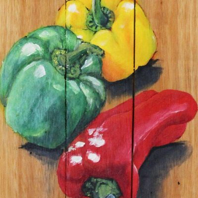 Piti red green yellow peppers