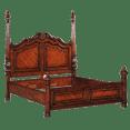 Panel Mahogany Bed