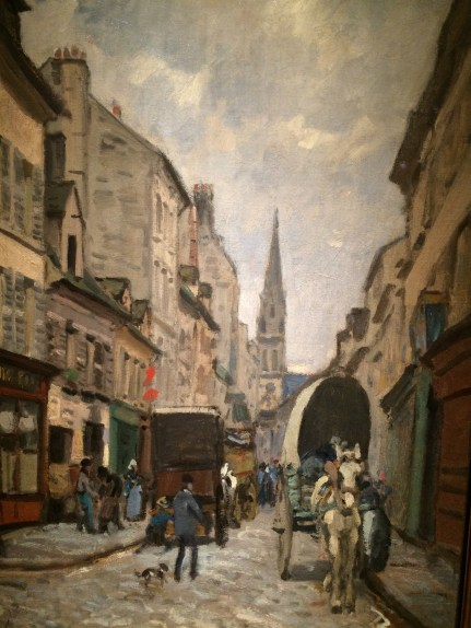 Sisley at the Bruce Art Museum -- The Grande Rue Argenteuil