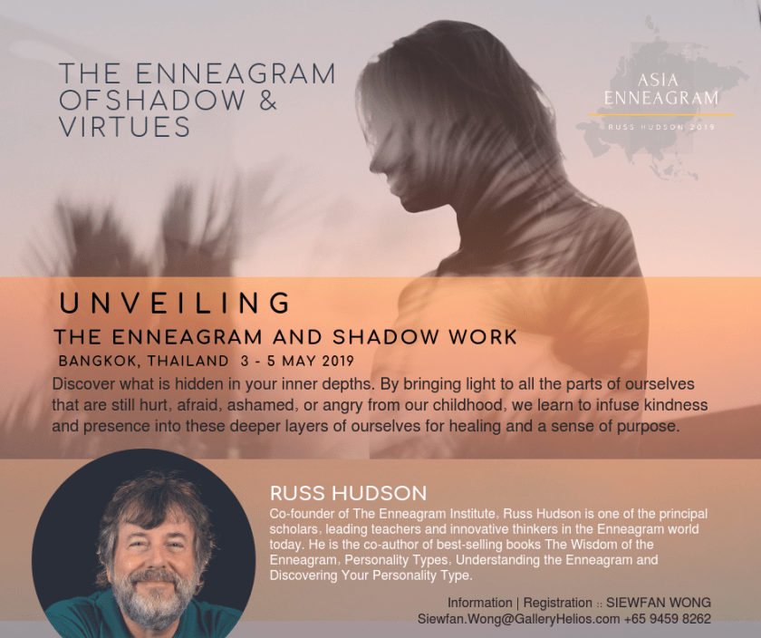 Unveiling The Enneagram and Shadow Work with Russ Hudson 2019 Asia