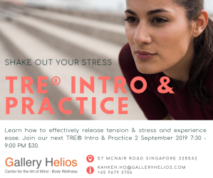 Release Your Stress TRE Into & Practice with Kah Keh September 2019