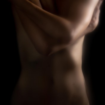 Nude Form in Embrace