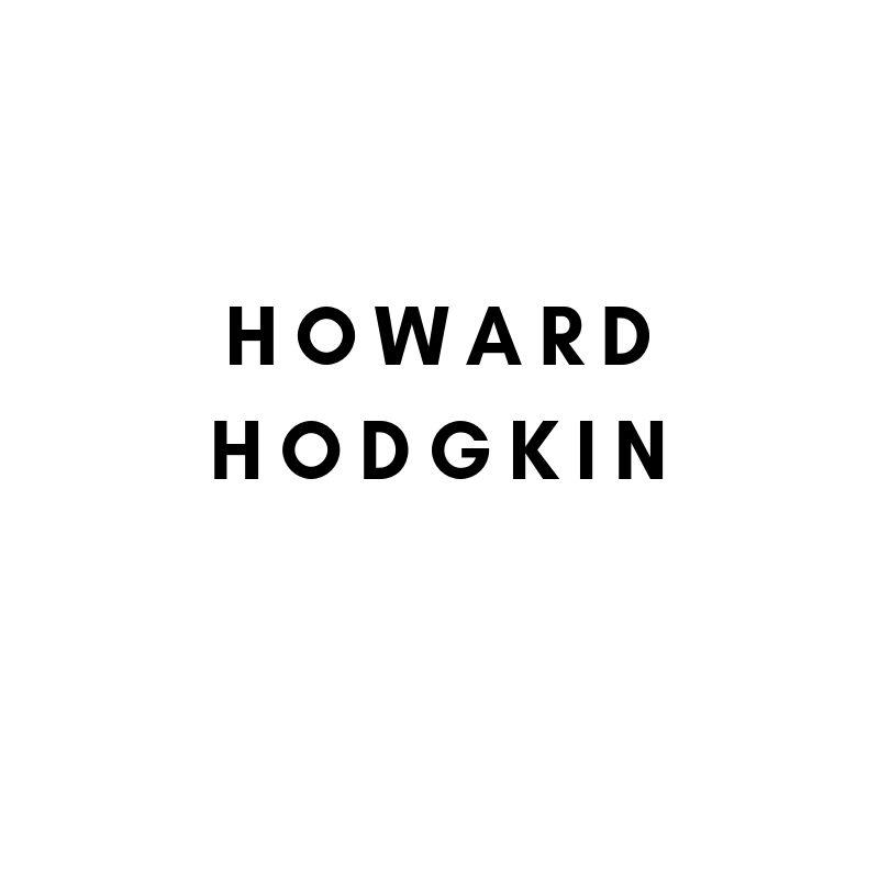 Künstler: Howard Hodgkin