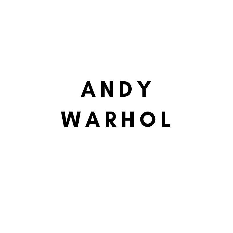 Künstler: Andy Warhol