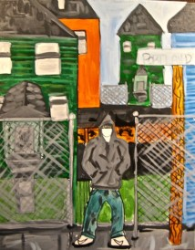 URI's State of Incarceration show on Gallery Night Providence