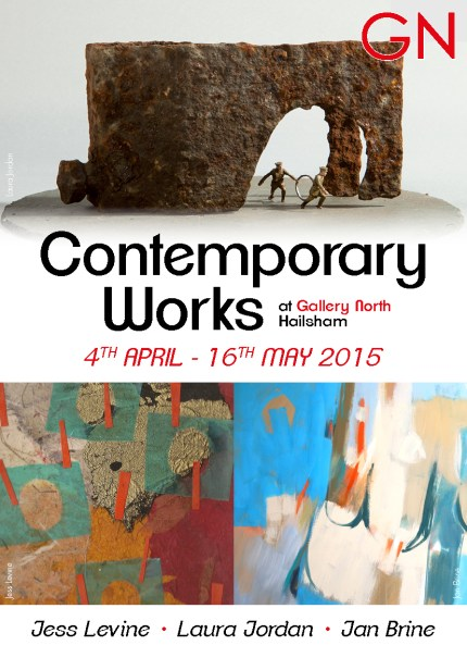 GN Contemporary works 2015 flyer front