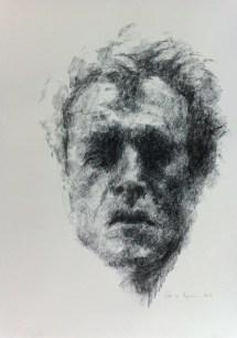 black chalk drawings cecilie