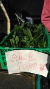 Aneka sayuran serba ¥100