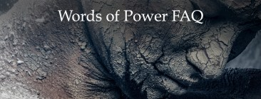 Words of Power FAQ