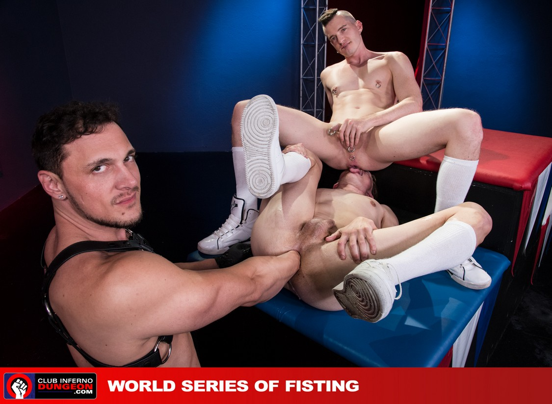 World Series Of Fisting Scene 4  Axel Abysse Joey D