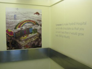 ArtLift, Yorkhill Children's hospital 2011