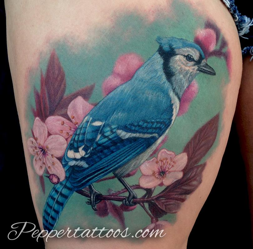 Jay Bird Tattoo