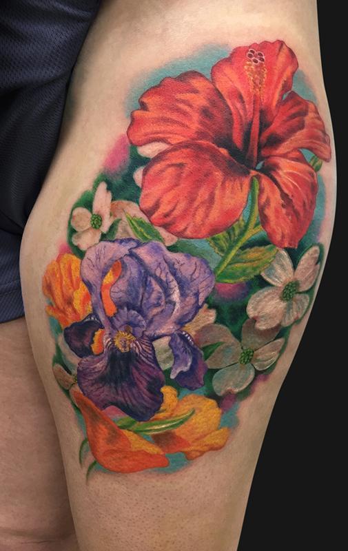 20 Flower Bouquet Tattoos Ideas And Designs