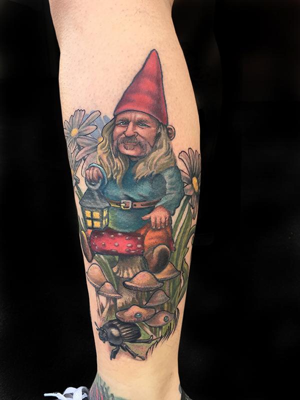 Garden Gnome By Katelyn Crane Tattoos