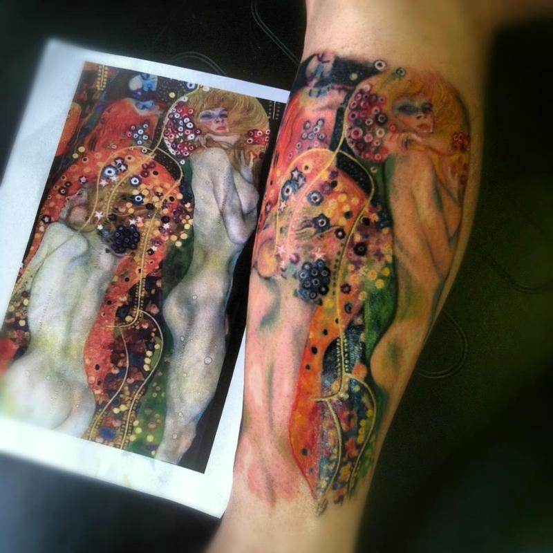 Keyword Klimt By Jessica Brennan Tattoos