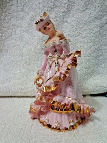 Lefton Lady Figurine Antiques