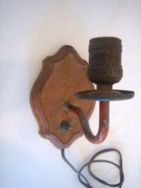 vintage electric wall sconce