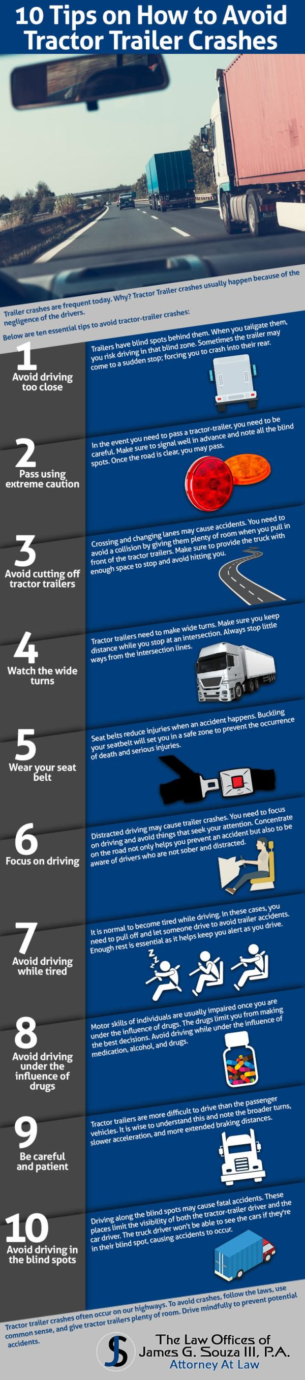 10-Tips-How-To-avoid-Tractor-Trailer-Crashes-infographic