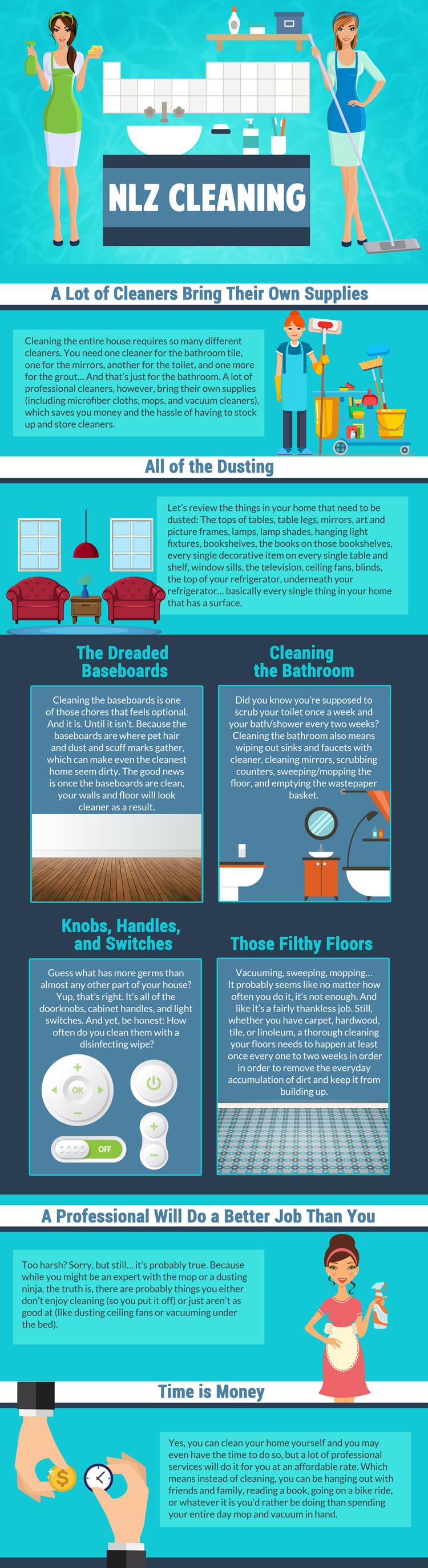Know When It's Time To Hire A Professional Cleaner