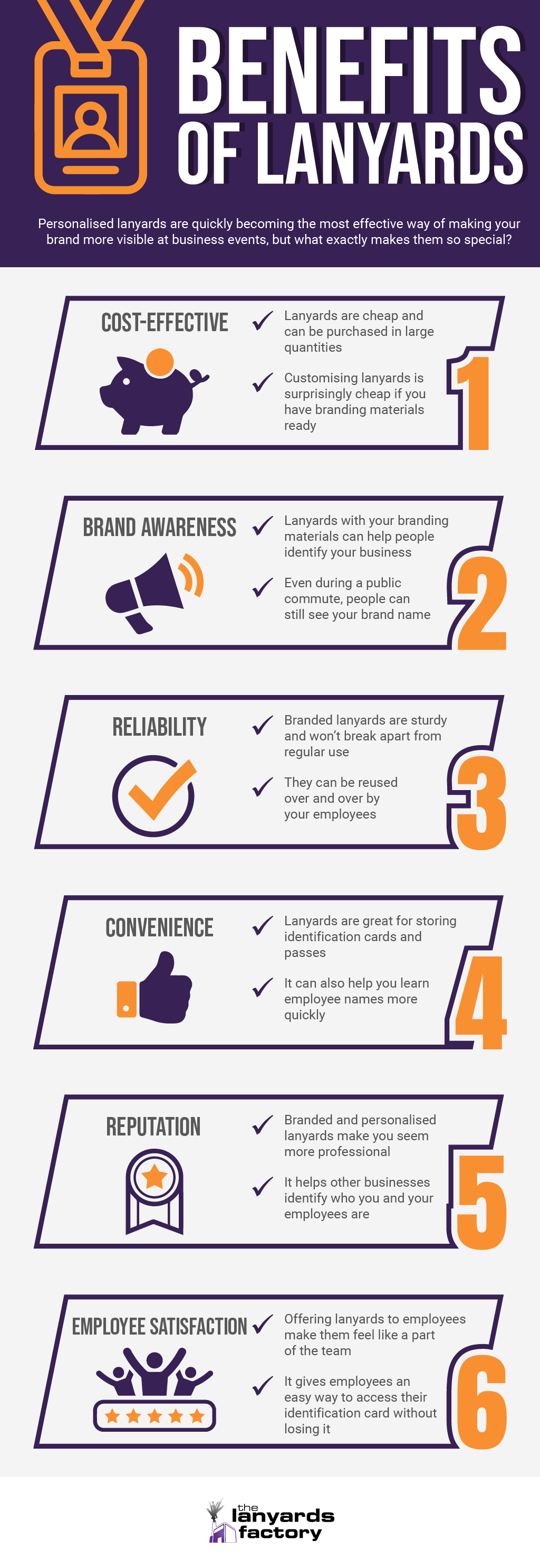 The 6 Benefits of Lanyards