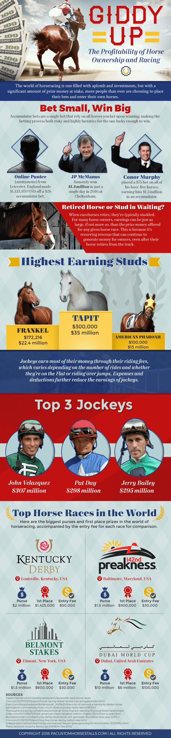 The Profitability of Horse Ownership and Racing-infographic