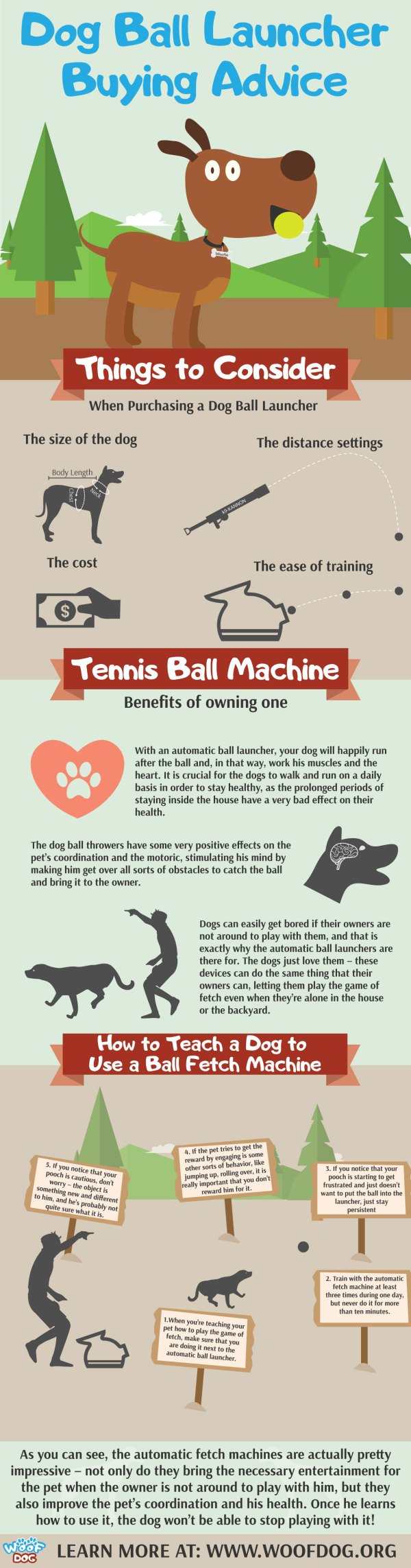 Woof-Dog-Ball-Thrower-Buying-Guide-Infographic