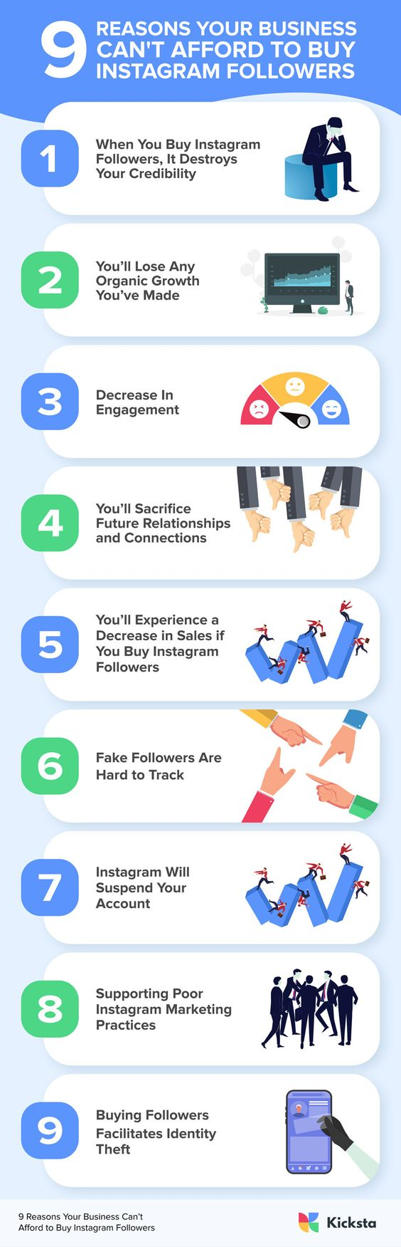 9 Reasons Your Business Can't Afford To Buy Instagram Followers